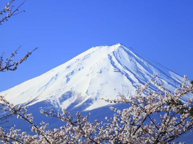 Le Mont Fuji, à 3776 m d'altitude - Japon,