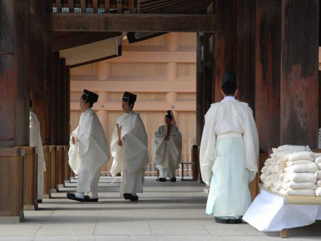 Cérémonie à Izumo-Taisha - Japon, © Luciano Lepre