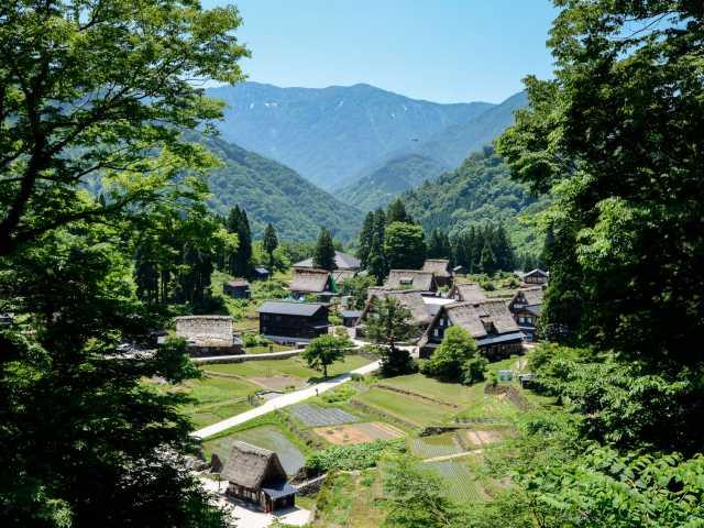 Village traditionnel d'Ainokura, Alpes Japonaises - Japon, © Julien Erster - TIRAWA