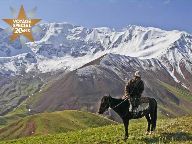 Nomade dos au Lénine - Kirghizie, © Guillaume Chenot - TIRAWA