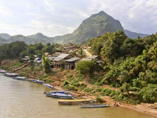 Au bord du Mékong - Laos, © Julien Freidel - TIRAWA