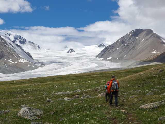 Glacier de Potanine - Mongolie, © Christian Juni - Tirawa