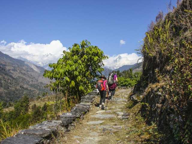 Balade vers Landrung, Népal, © Thierry Monniez - Tirawa