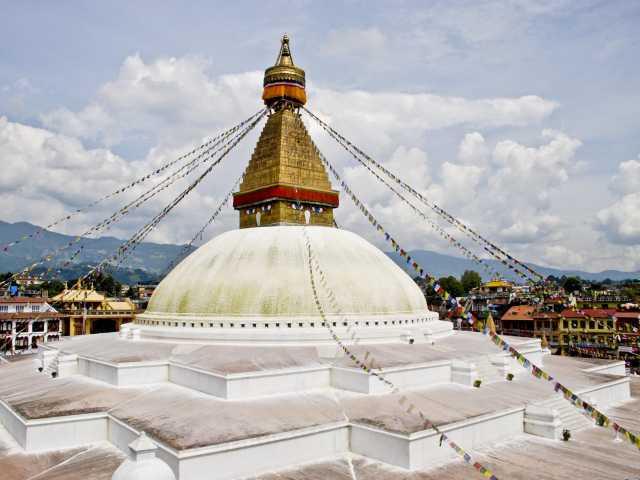 Bodnath - Kathmandu - Népal, © Robert Dompnier - Tirawa