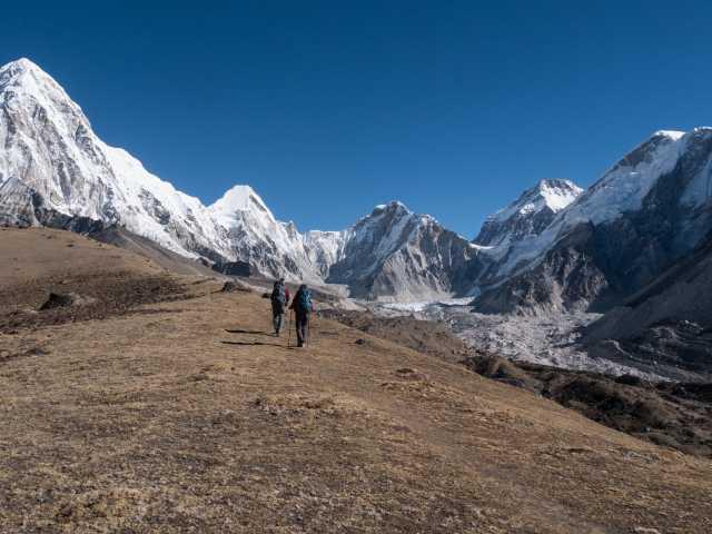 Entre Lobuche et Gorak Chep - Népal, © Christian Leroy - Tirawa
