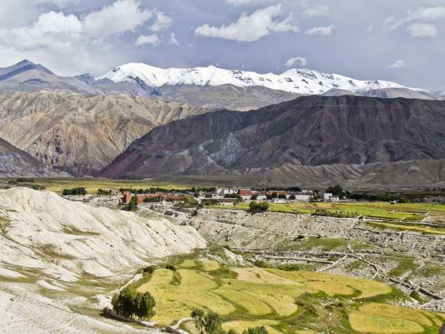 Lo Manthang, capitale de l'ancien royaume du Mustang (Népal), © Christian Leroy-Tirawa