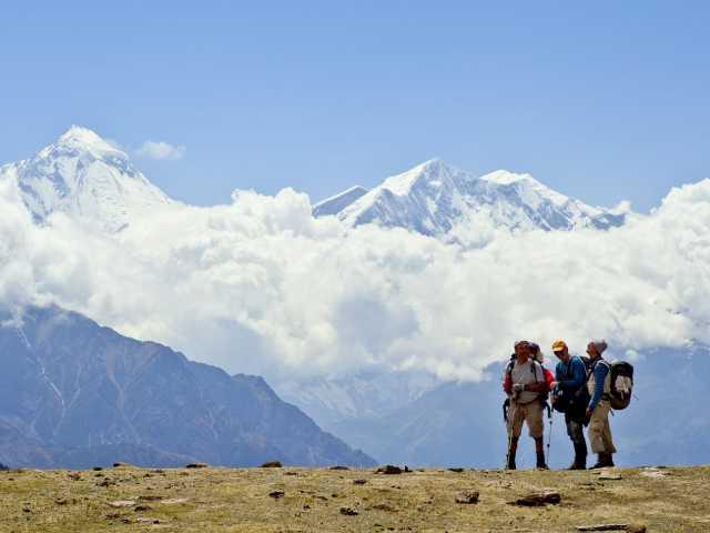 Face au Dhaulagiri - Népal, © Christian Juni - Tirawa