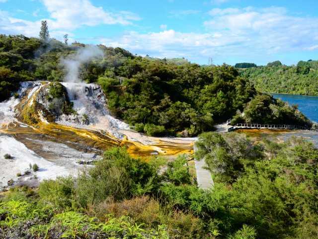 Site géothermique d'Orakei Korako - Nouvelle Zélande, © Julien Erster - TIRAWA