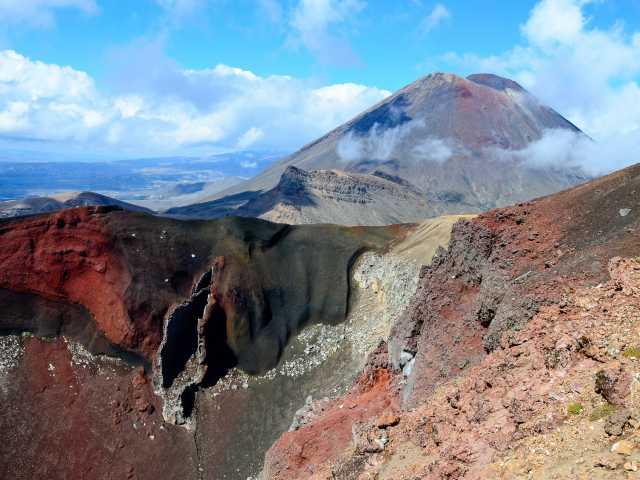 Red Crater, massif du Tongariro - Nouvelle Zélande, © Julien Erster - TIRAWA