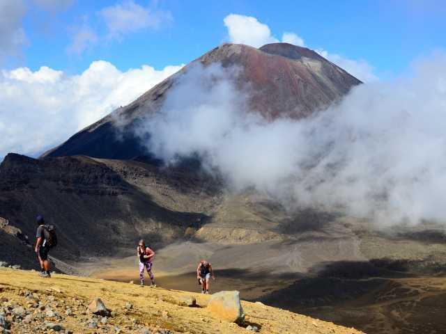 Traversée du massif du Tongariro - Nouvelle Zélande, © Julien Erster - TIRAWA