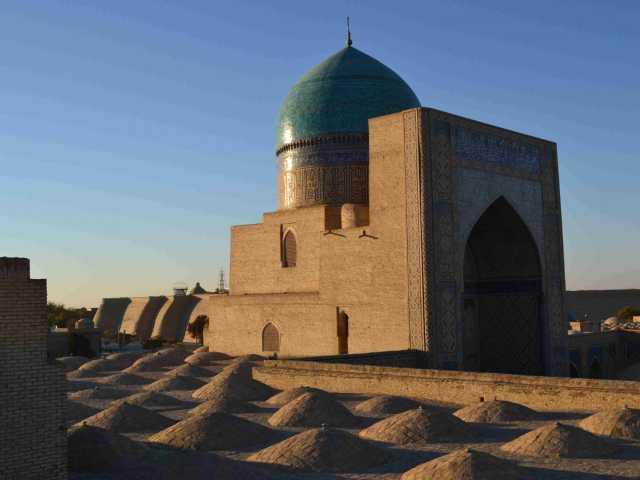 Coucher de soleil sur Boukhara - Ouzbékistan, © Renault Gautier - Tirawa