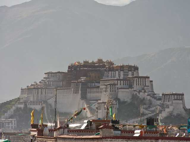 Potala à Lhassa - Tibet, © Christian Juni - Tirawa