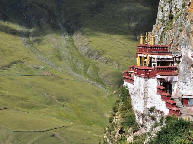 Temple à Drakyerpa - Tibet, © Géraldine Bénestar - Tirawa