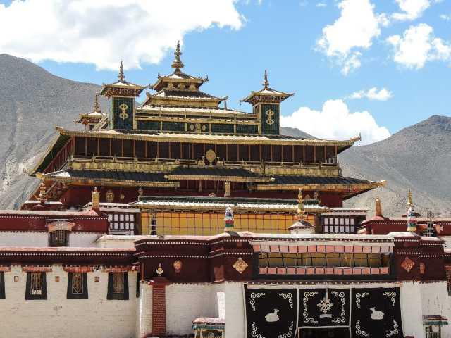 Monastère de Samyé - Tibet, © Guillaume Chenot - Tirawa