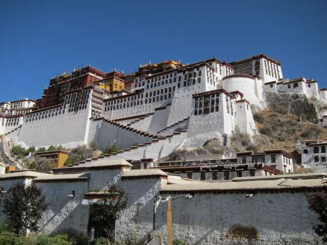 Le Potala à Lhassa - Tibet, © Christian Leroy - Tirawa