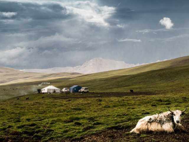 Paysage nomade, Kham - Tibet , © Luciano Lepre - Tirawa