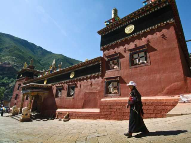 Monastère de Dege, Tibet, Kham, © Luciano Lepre - Tirawa
