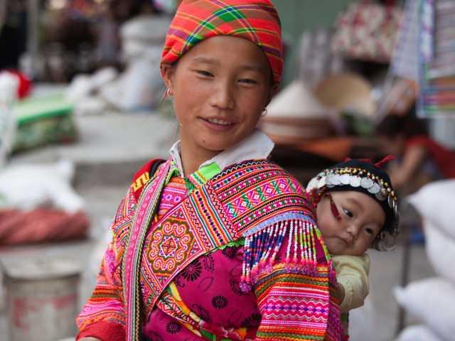 Marché de Huang Su Phi - Vietnam, © Christian Leroy - TIRAWA