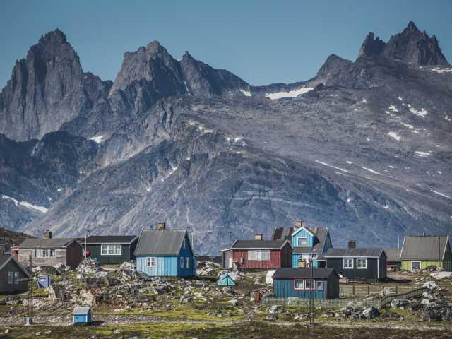 Ville de Nanortaliq - Groenland, © Mads Pihl - Visit Greenland