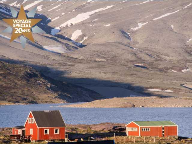 Belle lumière de fin de journée - Groenland, © Thierry Monniez - TIRAWA
