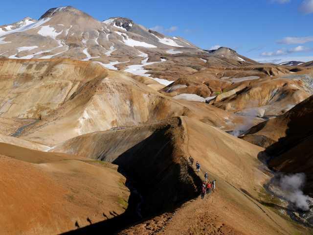 Site géothermique de Kerlingarfjoll - Islande, © Mathilde Bousson