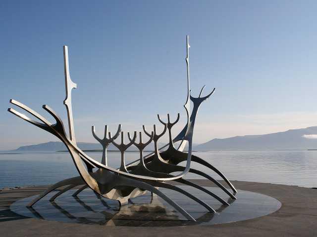 Sur le Port de Reykjavik - Islande, © Thierry Monniez - Tirawa