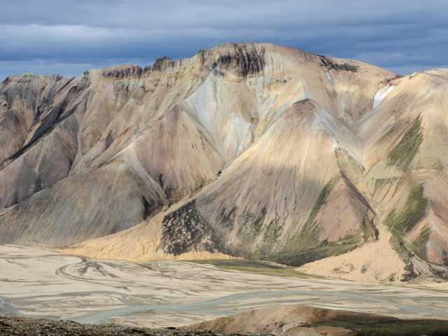Trek dans la région de Landmannalaugar, Islande, © Julien Erster - TIRAWA