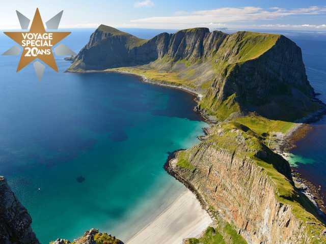 Sur les hauteurs de l'île de Vaerøy, © Polaris Expeditions