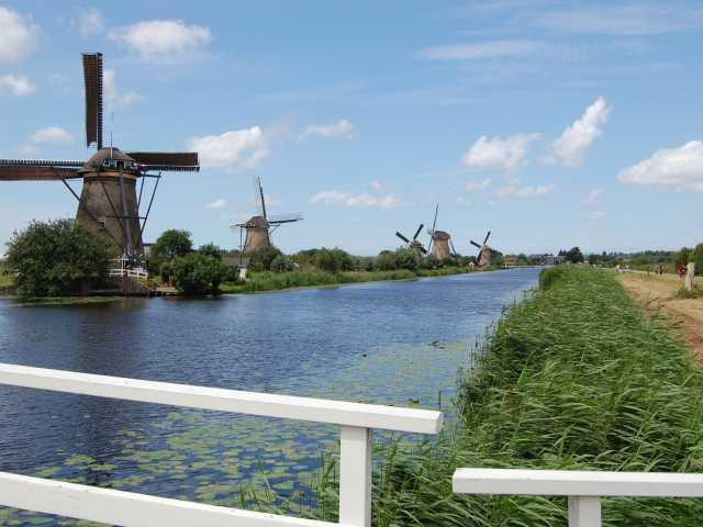 Sur la route des moulins - Pays Bas, © Grand Angle