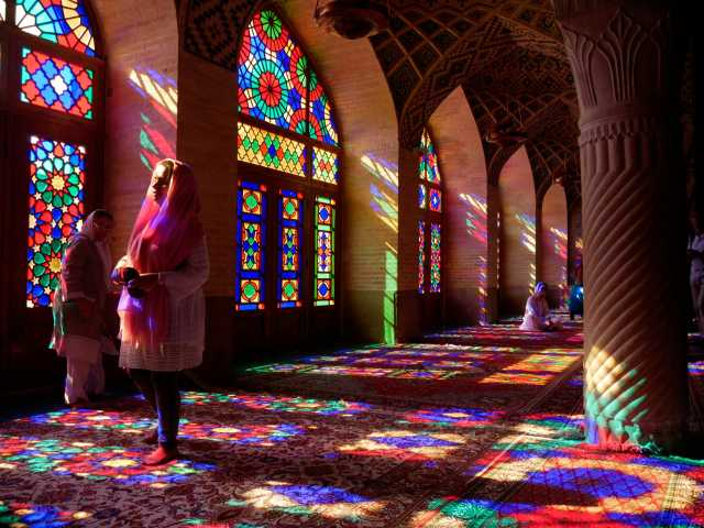 Mosquée Nasr-ul Mulk, Shiraz - Iran, © Christian Leroy - Tirawa