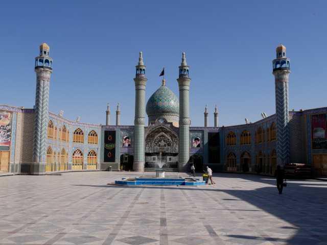 L'imamzadeh d'Arun - Iran, © Christian Leroy - Tirawa