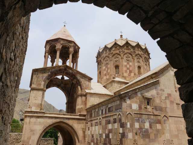 Monastère de St Stephanus - Iran, © Gautier Renault - Tirawa