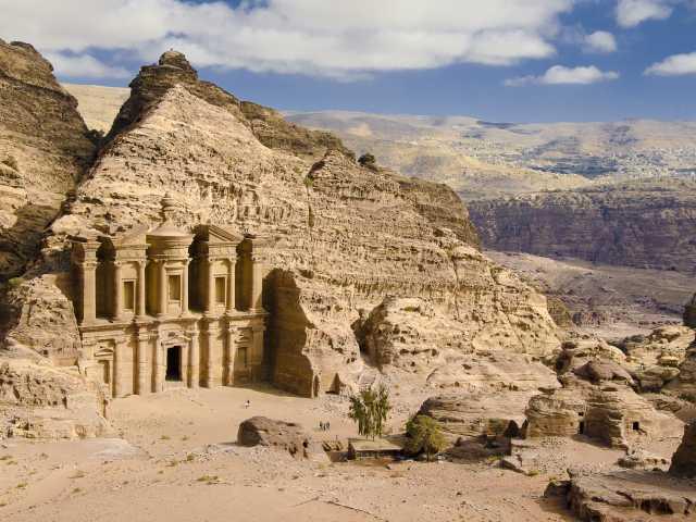Pétra, le monastère du Deir - Jordanie, © Julien Erster - TIRAWA