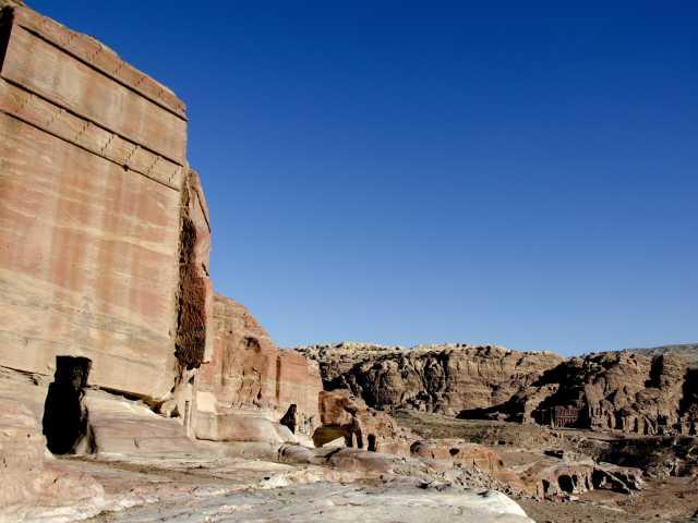 L'un des nombreux tombeaux nabatéens de Pétra - Jordanie, © Julien Erster -TIRAWA