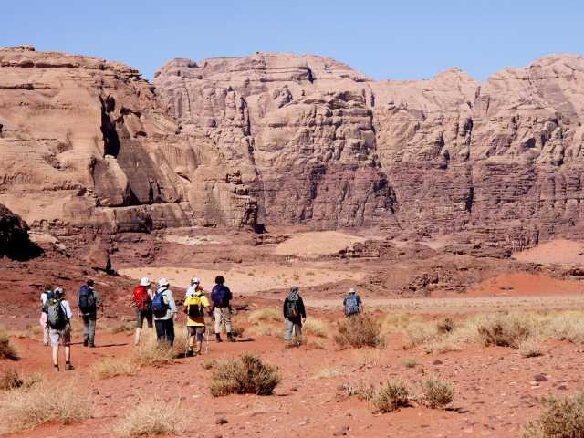 Trek dans le Désert du Wadi Rum - Jordanie, © Thierry Monniez - TIRAWA