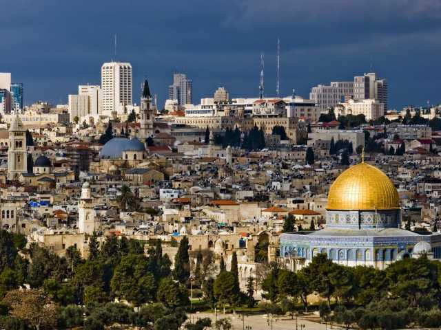 Jérusalem depuis le Mont des Oliviers - Israël,