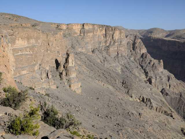 Trek dans le djebel Akhdar - Oman, © Julien Erster - TIRAWA