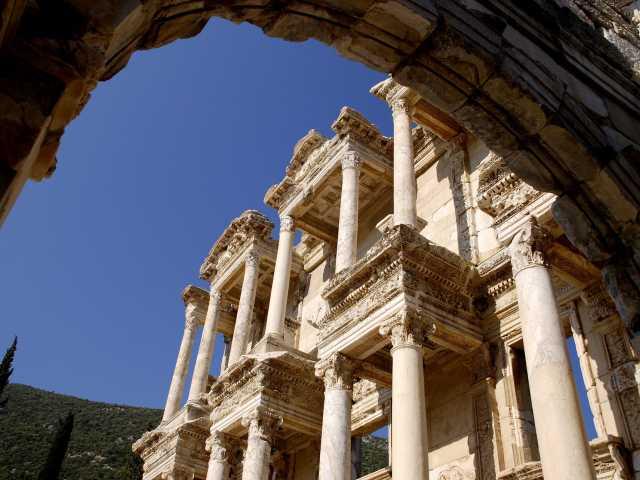 Bibliothèque dans la cité antique d'Ephèse - Turquie, © Julien Erster - TIRAWA