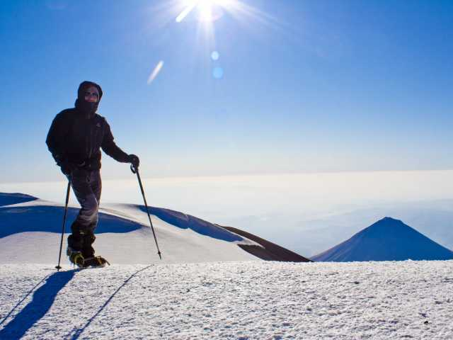 Crête sommitale du Mont Ararat (5137 m), © Julien Erster - TIRAWA