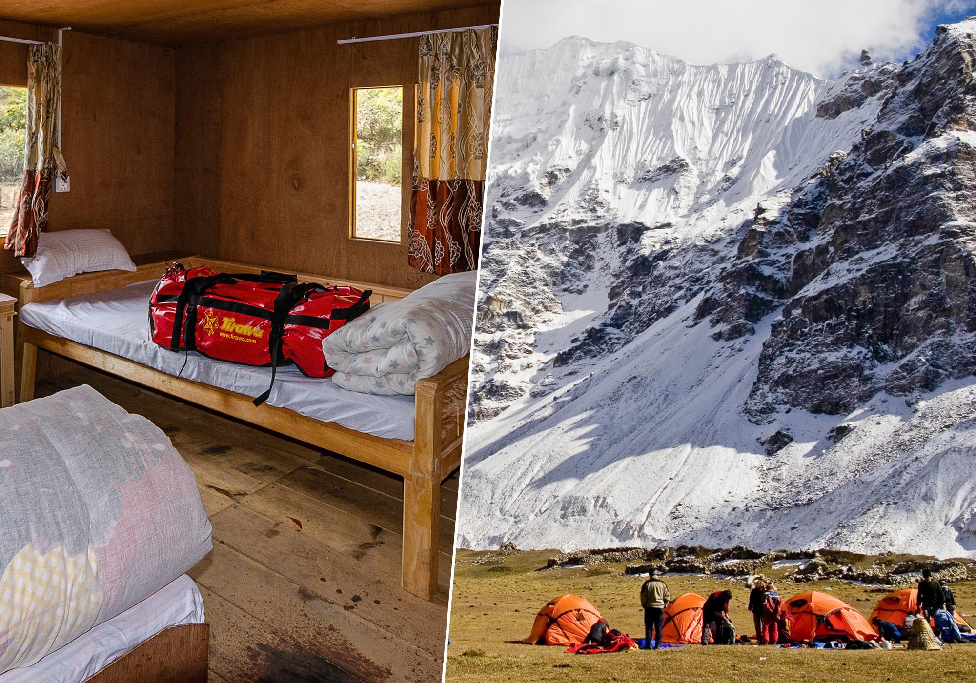 lodge versus campement