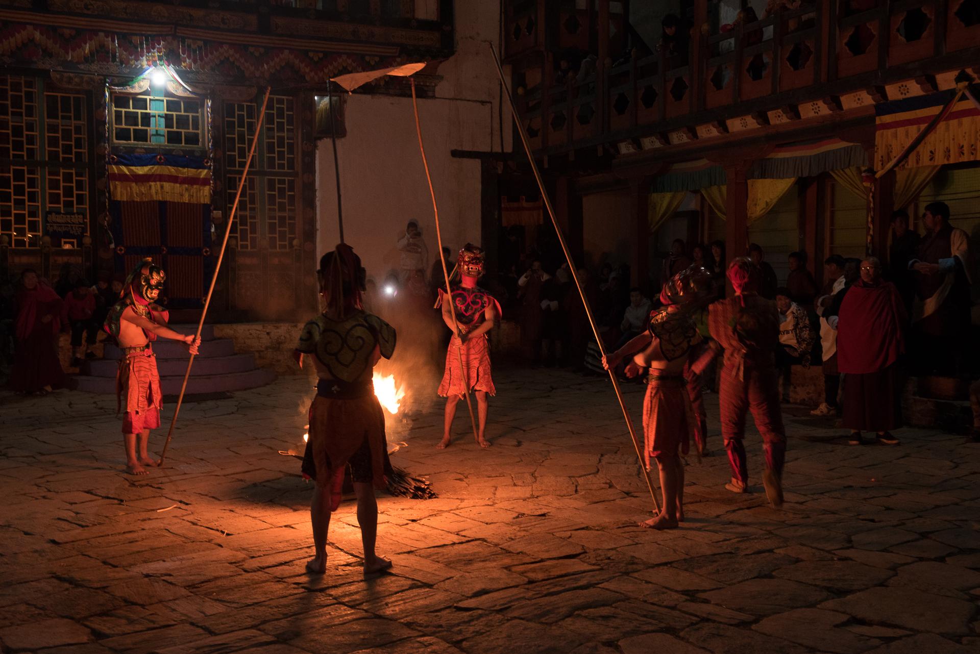 feu purificateur bhoutan