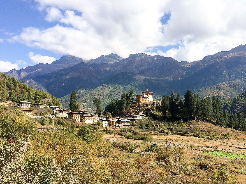 Drukgyel dzong Bhutan Tirawa