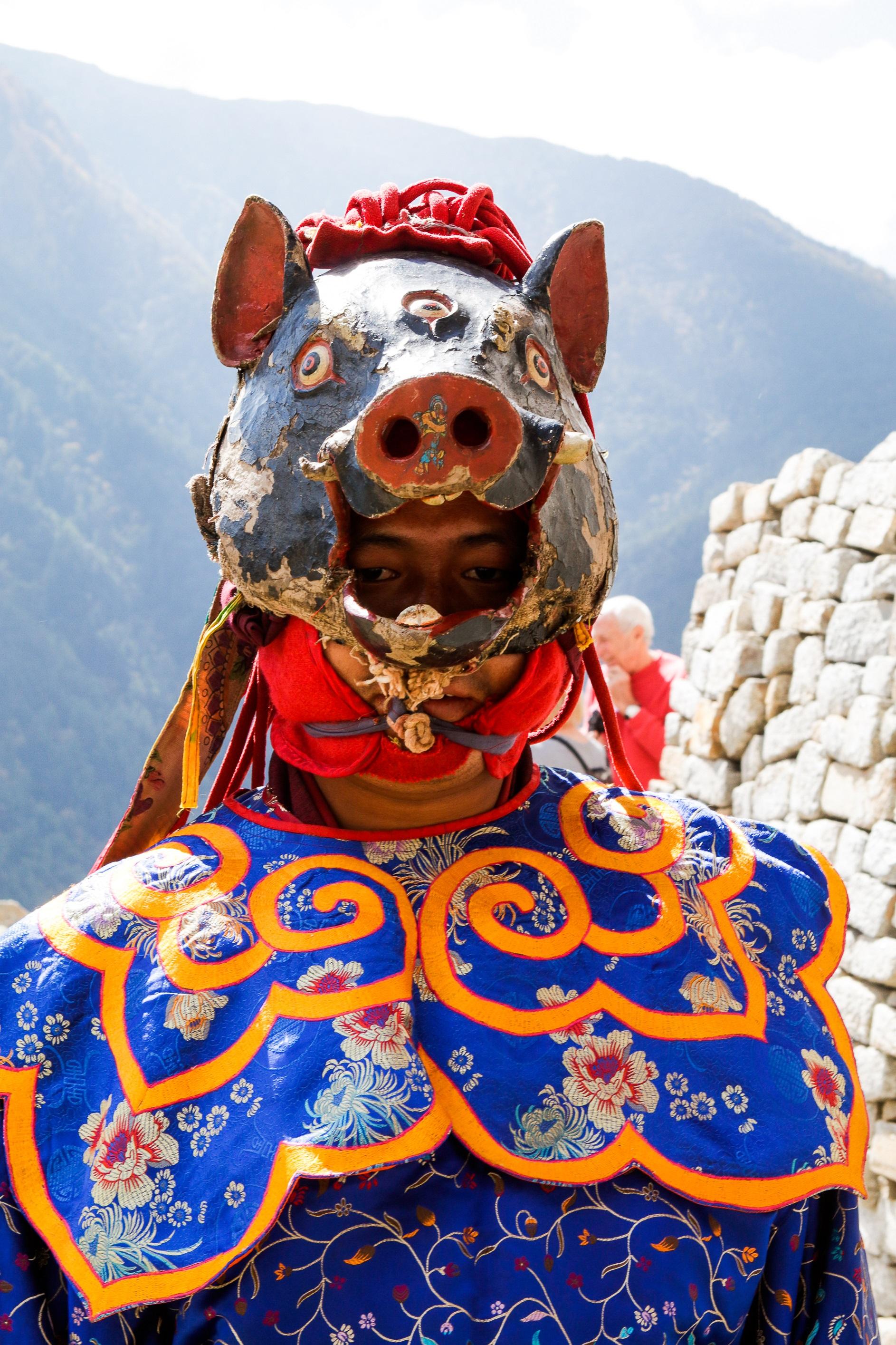 Festival Bhoutan Tirawa Gemkha