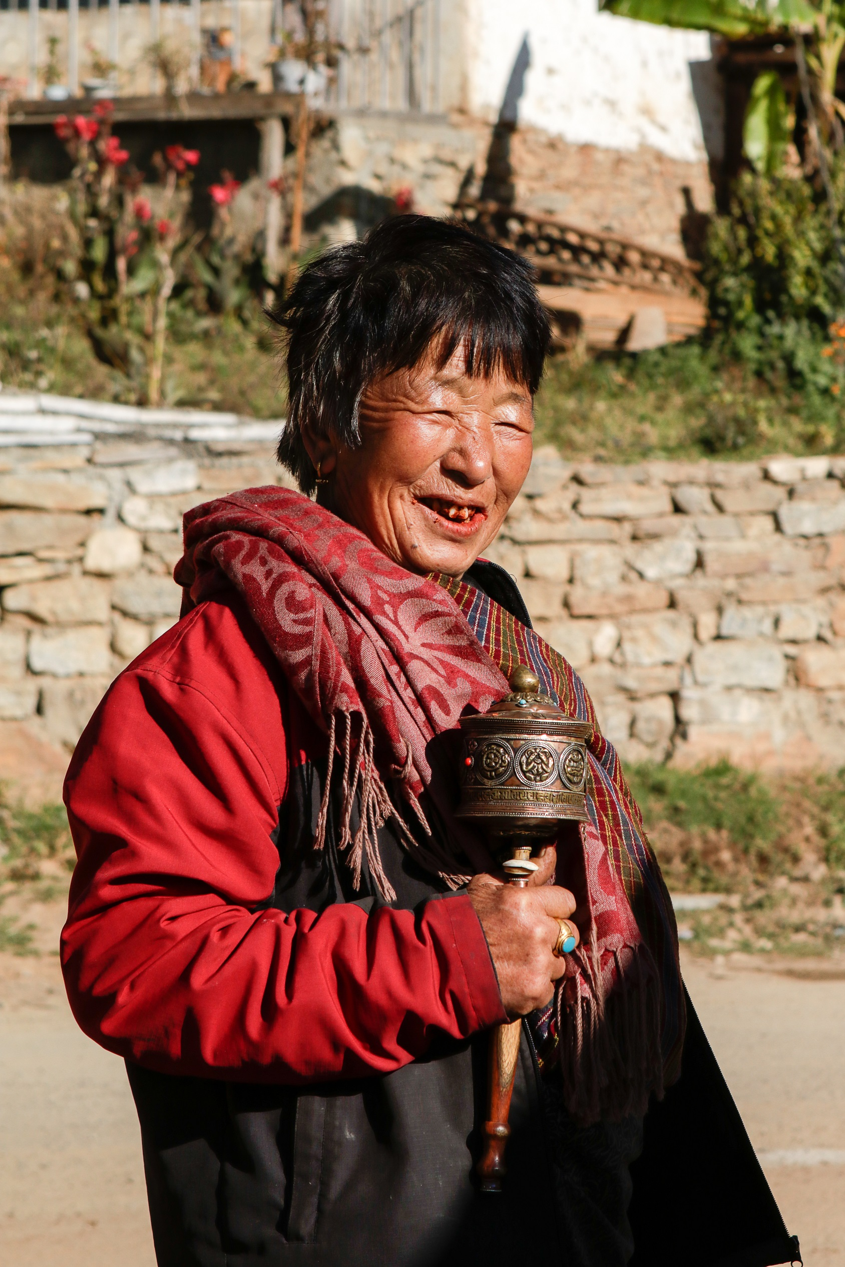 Femme Drukgyel du Bhoutan Tirawa