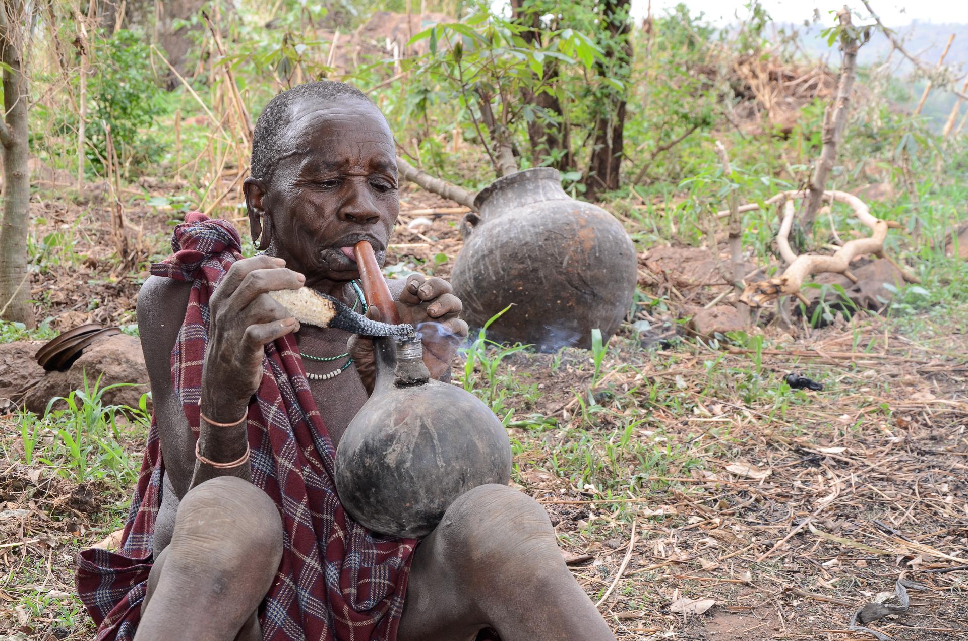 Région Surma Ethiopie - femme