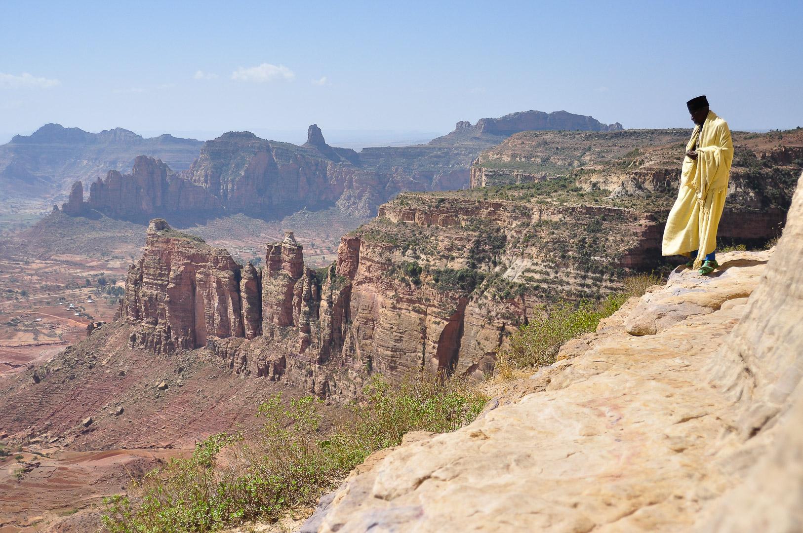 Moine Ethiopie Gheralta
