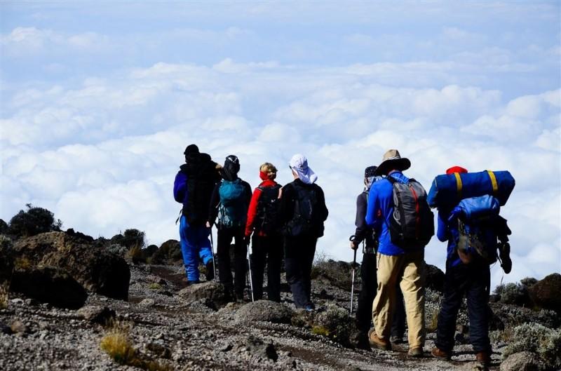Entre Barranco et Barafu Kilimandjaro