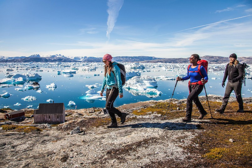 Crête de Tiniteqilaq - Groenland - Crédit : Björgvin Hilmarsson