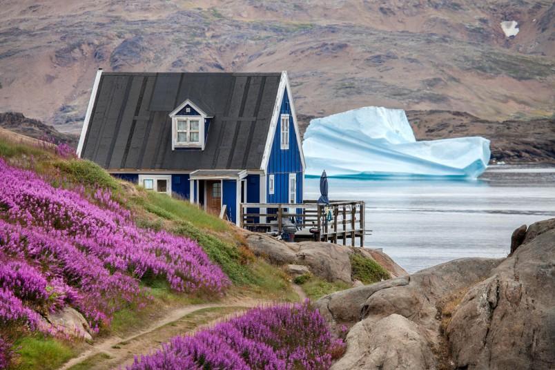 Fjord été- Groenland - Crédit : Björgvin Hilmarsson