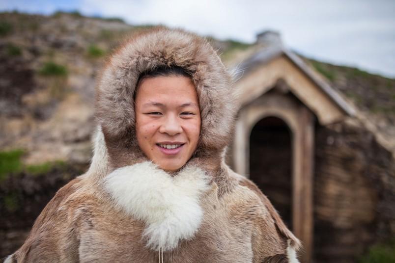 Inuit tenue traditionnelle - Groenland - Crédit : Björgvin Hilmarsson